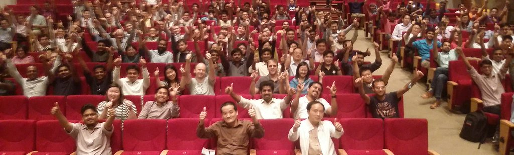 thumbs up audience