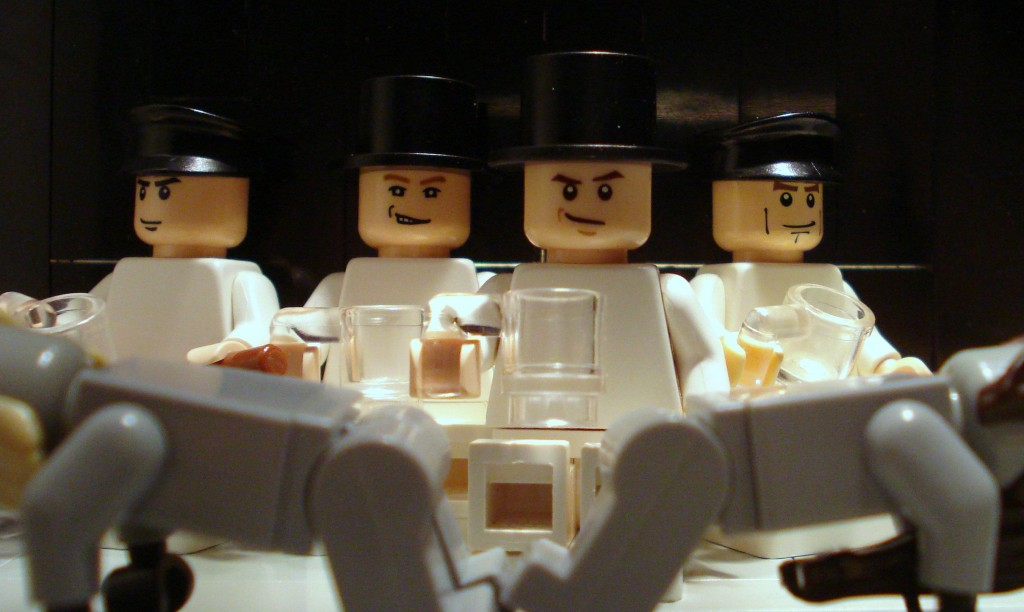 A clockwork orange lego