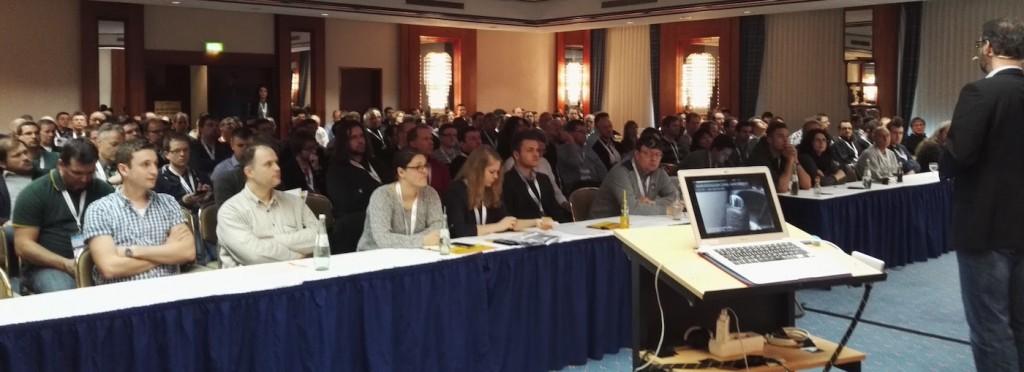 Publikum in meinem Vortrag