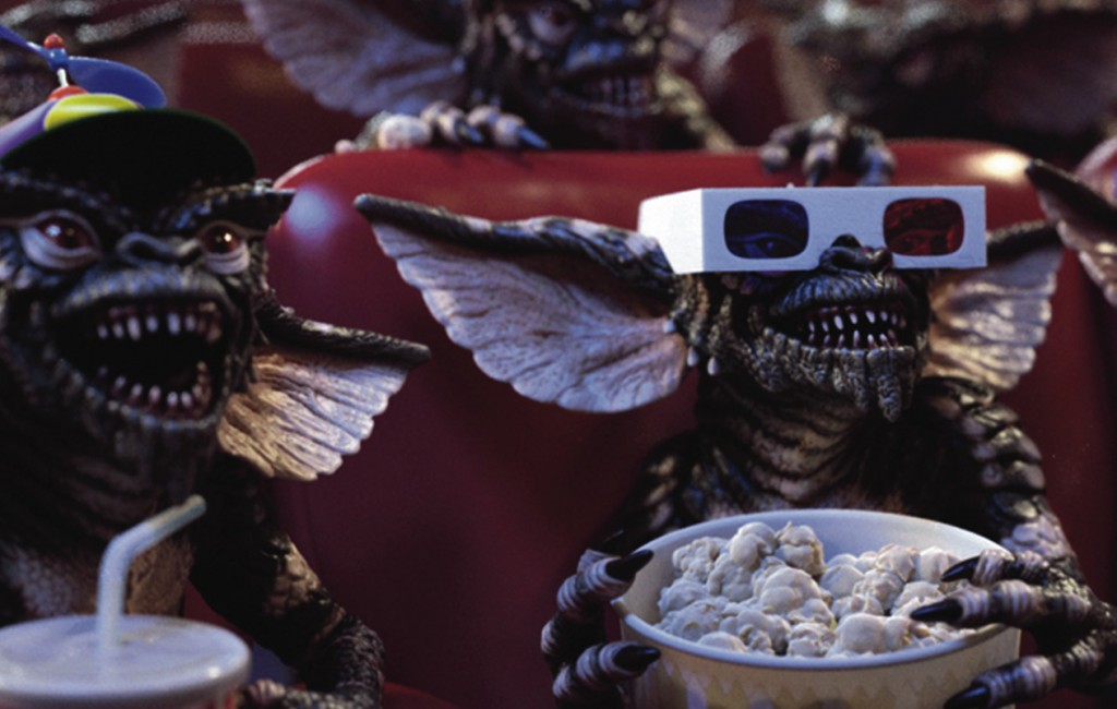 Gremlins in the movie theatre