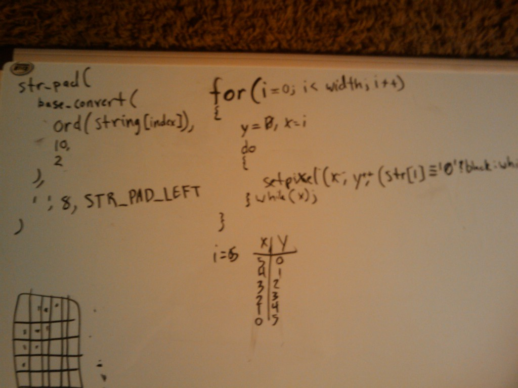 whiteboard code